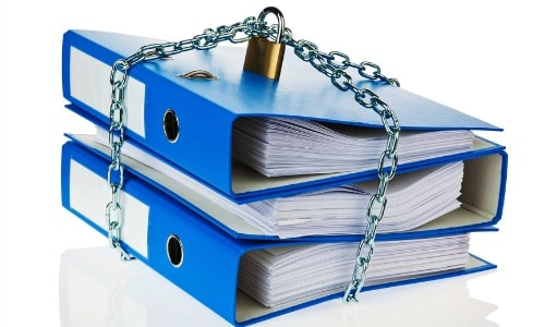 storing documents