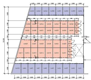 Storage units floorplan